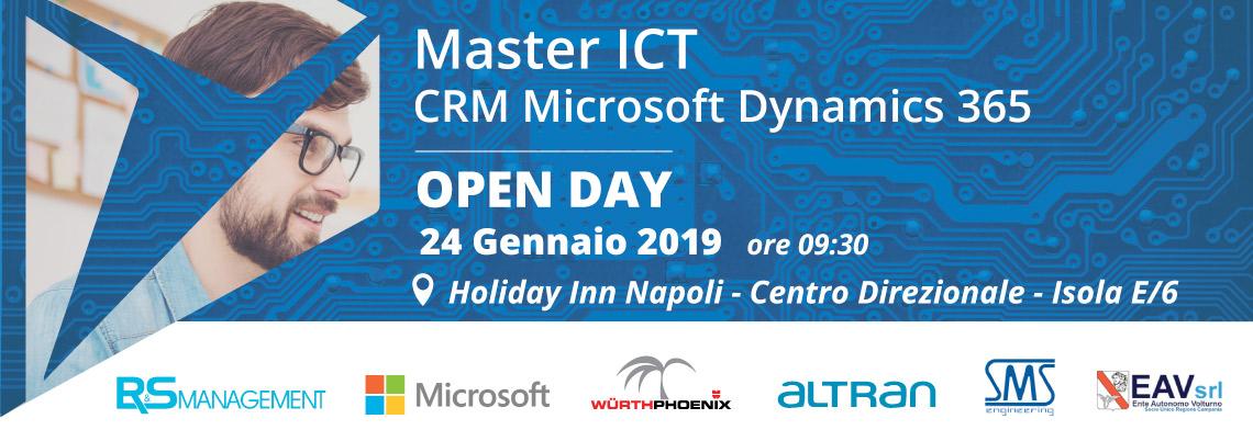 Master ict crm Microsoft Dynamics 365
