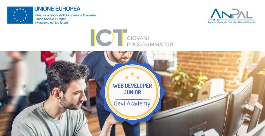 Corso gratuito web developer progetto giovani programmatori e sviluppatori