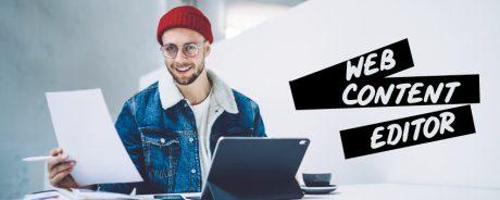 Web content editor corso gratuito a Napoli