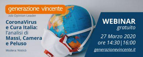 Webinar Gratuito cura Italia venerdì ore 14:00
