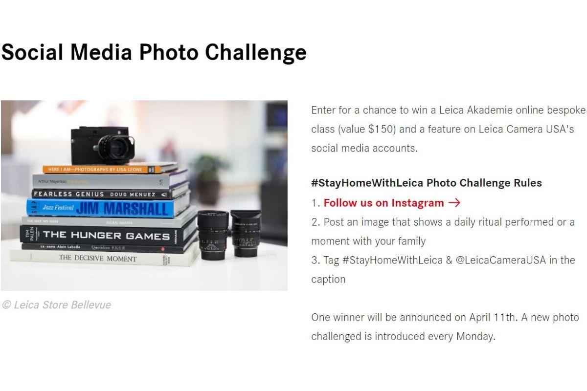 Articolo su iniziative gratuite leika challenge