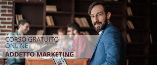 Corso gratuito online addetto al marketing