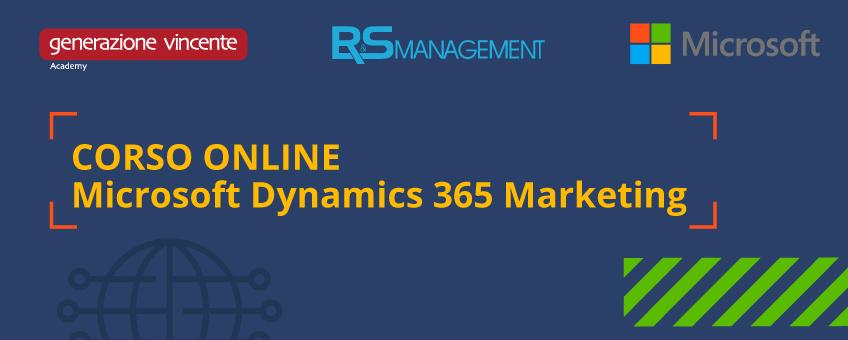 Corso Online - Microsoft Dynamics 365 Marketing